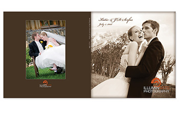 Wedding Album Design - Designed by Jamison Bridewell